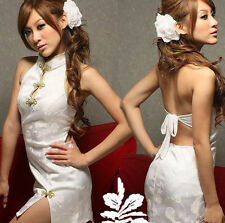 Cosplay Chinese Cheongsam Dress Sexy Lingerie Women Costumes Sex Cloth Underwear