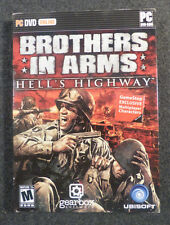 Brothers in Arms Hell's Highway (PC, 2008) New with Sleeve