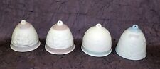 Lot Of 4 Lladro Christmas Ornaments - 1987 1991 1994 2000 Beautiful