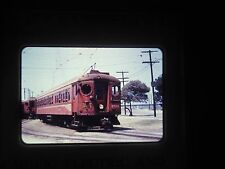 Photo slide Train railroad California Long beach mta 1520 pe's 300 car trolley c