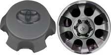 NEW 10-15 For Toyota 4Runner FJ Cruiser wheel center hubcaps CHARCOAL 560-69561