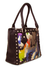 Western Camouflage Leatherette Rhinestone Fashion Handbag