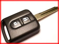 NEW 2 BUTTON UNCUT REMOTE KEY FOB for NISSAN QASHQAI, MICRA, NAVARA NOTE NV200++