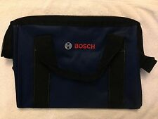 "New Bosch 15"" x 9"" x 11"" Heavy Duty Contractors Storage Tool Bag"