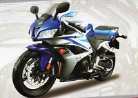 HONDA CBR 600 RR DIE-CAST METAL MODEL MOTORBIKE KIT by MAISTO SCALE 1:12, NEW
