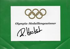 Reinfried Herbst Öst Ski Alpine OS 2006/2 Org. Sig.