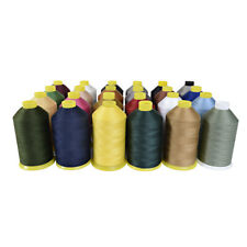 4000MTR POLY-COTTON-HEAVY DUTY SEWING MACHINE THREAD M36 UPHOLSTERY LEATHER WORK