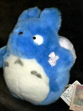OFFICIAL 10 inch Blue Totoro plush toy - NEW