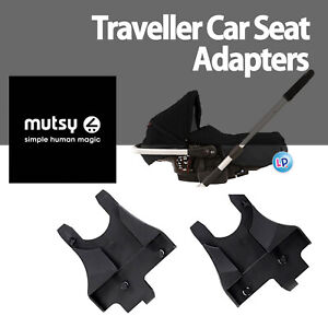 NEW Official MUTSY TRAVELLER CAR SEAT ADAPTERS to fit Mutsy 4Rider and Urban