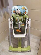 Seggiolone per bambini 3 mesi prima pappa peg perego Happy Farm Made in Italy