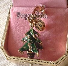 RARE & BRAND NEW JUICY COUTURE CHRISTMAS TREE CHARM IN TAGGED BOX