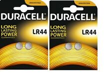 4 Piles bouton LR44 DURACELL V13GA AG13 L1154 A76 KA76
