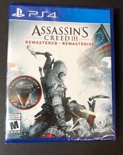 Assassin's Creed III [ Remastered ] (PS4) NEW