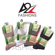 New Men's 12 Pairs Non Elastic Bamboo Diabetic Gentle Super Soft Top Grip Socks