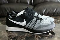 2018 Men's Nike Flyknit Trainer Oreo AH8396-005 Black White Size 12 13 Rare