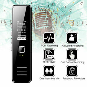 Mini 32GB Audio Voice Recorder Diktiergerät Digital Aufnahmegerät Sprachaufnahme