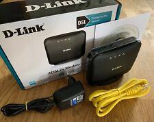 D-Link DSL-321B/DE ADSL2+ Ethernet Modem Annex B und J DSL 1x RJ-11