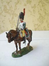 Del Prado cavalier des guerres de Napoléon en plomb peint