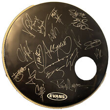 New listing 2010 Uproar Festival Bands Signed bass drum head Vinnie Paul MORE Heavy Metal