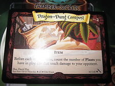 HARRY POTTER TCG CARD CHAMBER OF SECRETS DRAGON-DUNG COMPOST 65/140 UNCO MINT