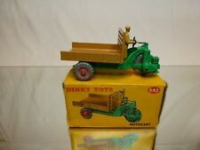 DINKY TOYS 27G 342 MOTOCART - GREEN +  BROWN 1:43 - EXCELLENT CONDITION IN BOX