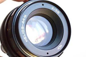 ZENITH Helios-44M   58mm f/2  for Pentax M42 screw mount  - Swirly Bokeh   USSR