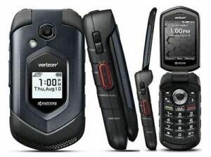 Kyocera DuraXV E4610 Verizon LTE 4 GSM UNLOCKED  16GB FLIP Phone **FREE GIFT**