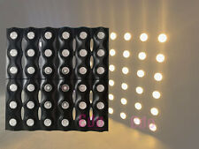 36x5W Gold matrix LED light for stage show event dj disco effect party lighting