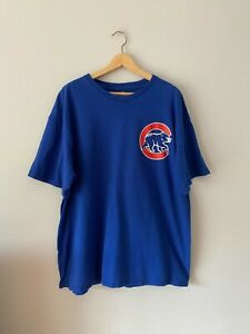 Chicago Cubs Anthony Rizzo T-Shirt in Royal Blue Men's Size 2XL