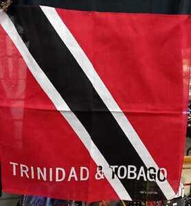 TRINIDAD & TOBAGO FLAG - ALTERNATE DESIGN - BANDANA - CARRIBEAN COUNTRY
