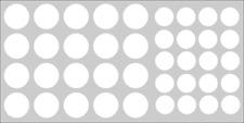 Möbelpflaster Premium weiß RAL 9010 Wandfarbe Möbelaufkleber Schraubenabdeckung