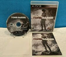 Tomb Raider (Sony PlayStation 3, 2013) Tested & Working
