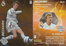 N°379 BECKHAM # ENGLAND REAL MADRID ESTRELLAS MEGACRACKS CARD PANINI LIGA 2006