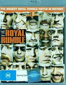 WWE Wrestling - Royal Rumble 2011 BLU-RAY Disc NEW & SEALED Free Post