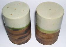Cranbrook Station Studio pottery-Paire de grandes Stoneware salt & pepper pots.
