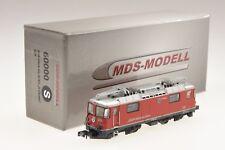 "MDS-Modell 60000 Spur N RhB-Ellok Ge4/4II 612 ""S-Chanf"" analog"