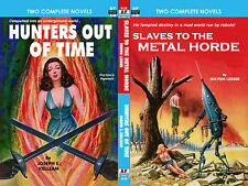 Armchair Fiction, SLAVES TO THE METAL HORDE & HUNTERS OUT OF TIME, M. Lesser