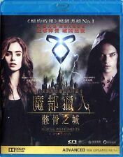 """Lily Collins """"The Mortal Instruments: City of Bones"""" Action Region A Blu-Ray"""