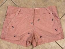 J. Crew Anchor Shorts Size 6