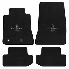 Mustang Carpet Floor Mats w/Shelby Snake GT350 Logo 2013-2014 Coupe&Convertible