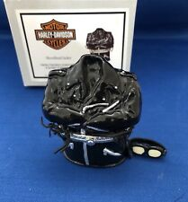 Harley Davidson Shovelhead Jacket Porcelain Hinged Box  Midwest PHB Collection