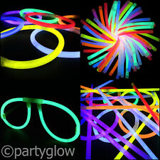 Glow Sticks Party Pack - Ball, Glasses, Ears, Heart Specs Connectors + Straws