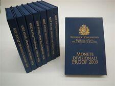 Buitenkans !! - **San Marino  - 2009 Proof  - 0,01  -- 2 euro / 8 munten**