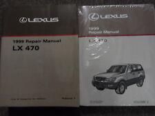 1999 LEXUS LX470 LX 470 Service Repair Shop Manual Set DEALERSHIP BOOKS 99 NEW