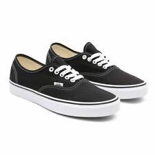 VANS Authentic Mens US Size 8 Black Textile SNEAKERS Shoes UK 7