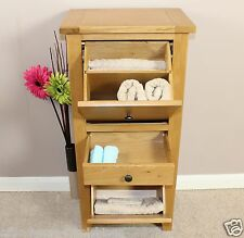 Oak Storage Cupboard Shoes Linen Bathroom Hallway Bedroom