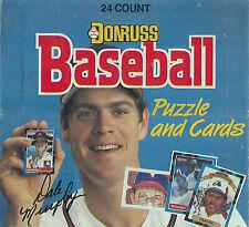 1988 Donruss Baseball Cards Factory Packs of 36ct