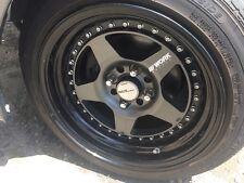 15 inch Work cr01 w/ falken tires and bwr steel lug nuts