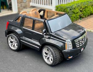 Fisher Price Power Wheels Cadillac Escalade Black