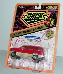 Road Champs Ford Truck Series Ford Explorer Red 1/43 Scale Diecast NEW